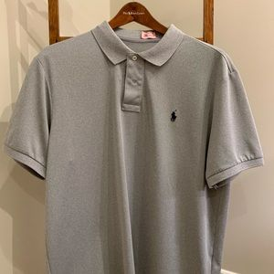 Gray Polo Sport shirt